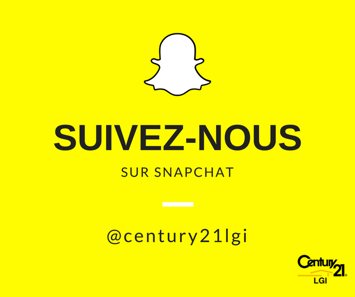 snapchat agence immobilière